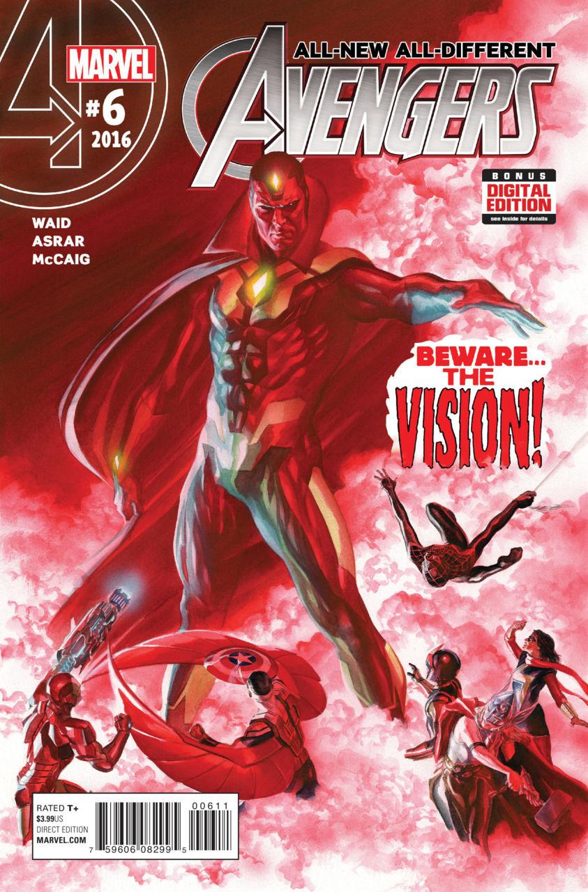 Fosgitt Variant 2016 #1 VF//NM Jay P All-New All-Different Avengers Annual