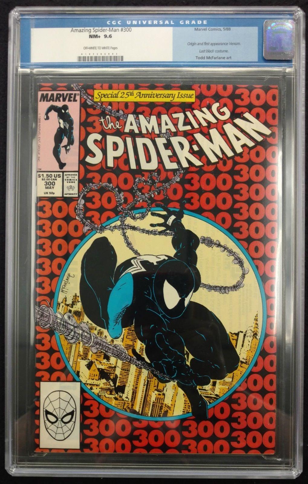 Amazing Spider-Man (1963) #300 CGC 9 6 old label 1st app Venom (0107506003)
