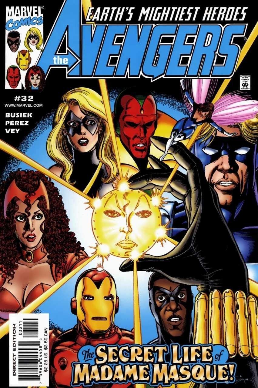 #45 #460 November 2001 Marvel NM 1998 Series Avengers 9.2