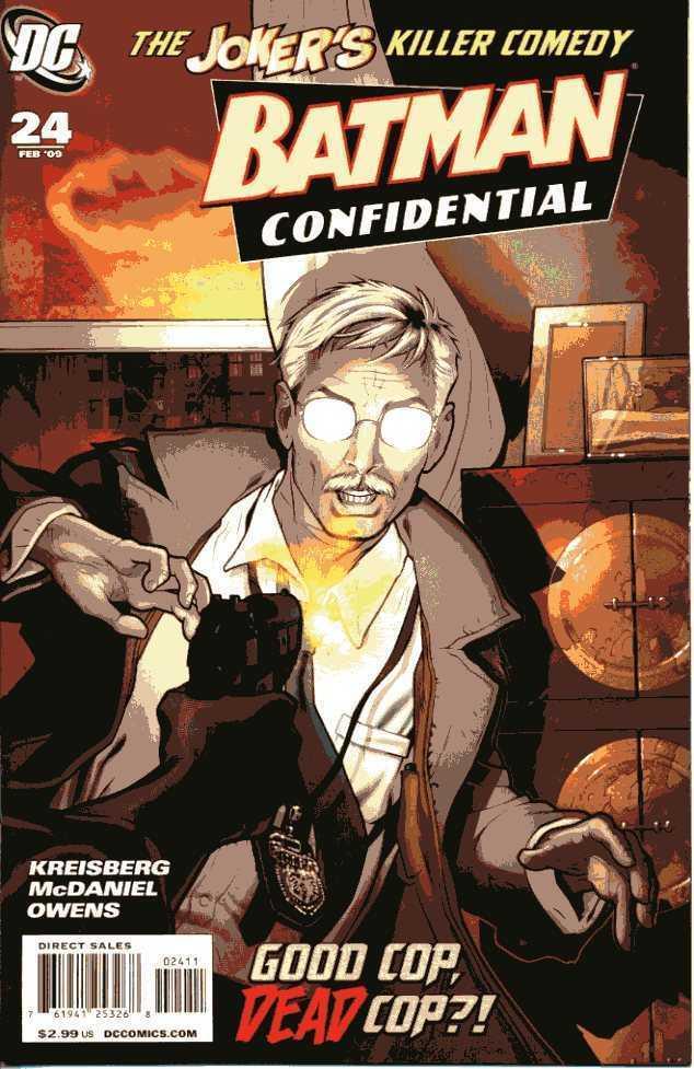 BATMAN CONFIDENTIAL 2007 #24 VF SCOTT MCDANIEL ART JOKER