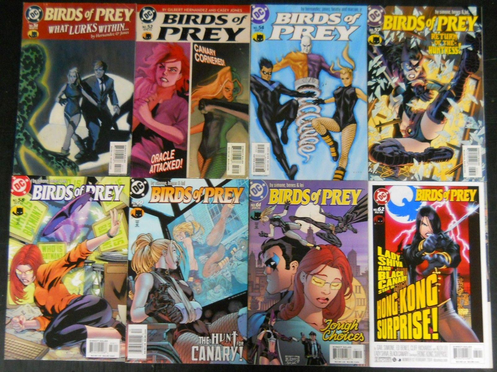Birds Of Prey 51 127 Lot Of 39 Comics Batman Oracle Black Canary Gail Simone Silver Age Comics
