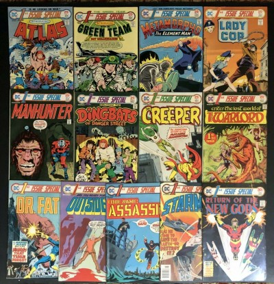 1st Issue Special (1975) #1-13 complete set 1st app Warlord New Gods Jack Kirby