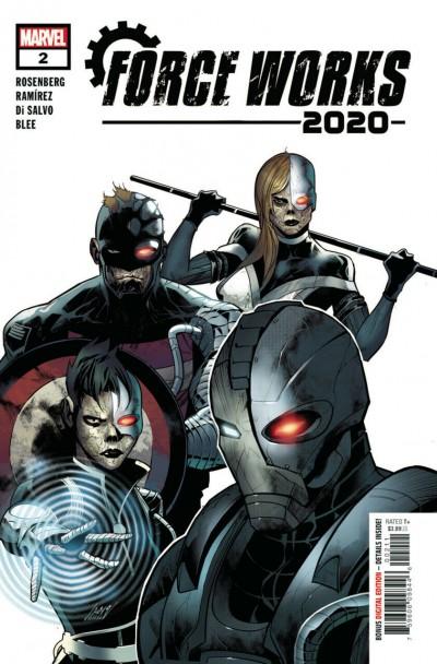 2020 Force Works (2020) #2 of 3 VF/NM Juanan Ramirez Cover