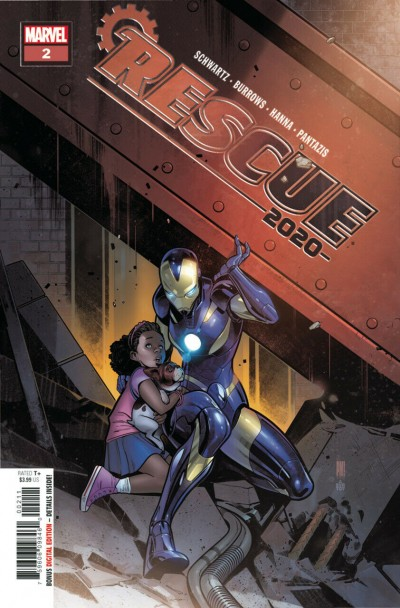2020 Rescue (2020) #2 VF/NM Paco Medina Cover