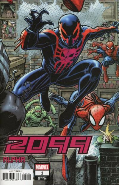 2099 Alpha (2019) #1 VF/NM Arthur Adams Connecting Variant Cover
