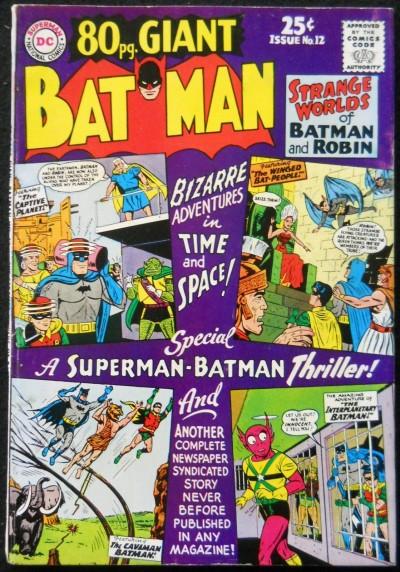 80 PAGE GIANT #12 VG/FN BATMAN