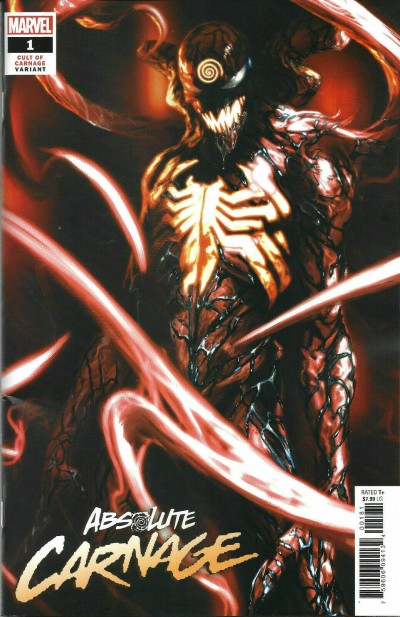 Absolute Carnage (2019) #1 VF/NM-NM Cult of Carnage Dell'Otto Variant Cover