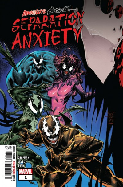 Absolute Carnage: Separation Anxiety (2019) #1 VF/NM Philip Tan Cover