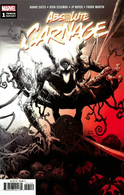 Absolute Carnage (2019) #1 VF/NM-NM Stegman Premiere Variant Cover