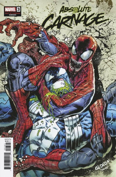 Absolute Carnage (2019) #3 VF/NM Juan Gedeon Cult of Carnage Variant Cover