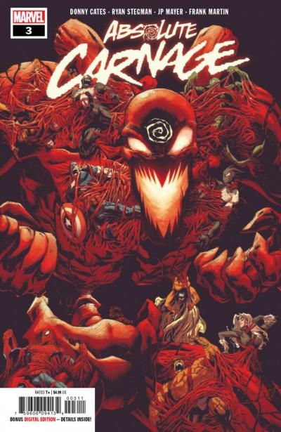 Absolute Carnage (2019) #3 VF/NM-NM Ryan Stegman Cover