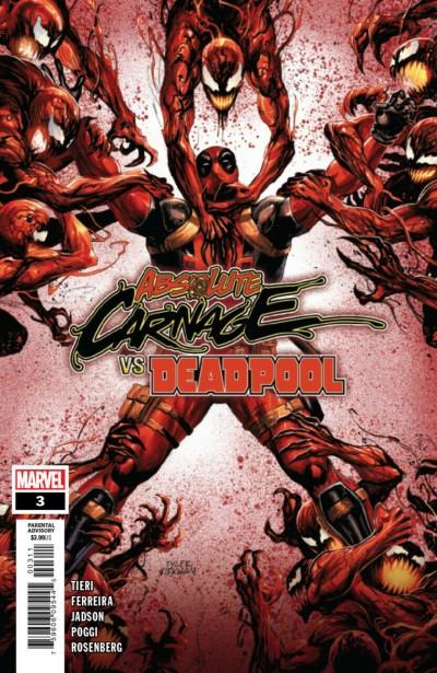 Absolute Carnage vs. Deadpool (2019) #3 VF/NM Tyler Kirkham Cover