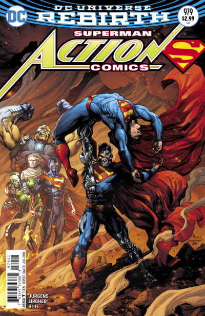 Action Comics (2016) #979 VF/NM Gary Frank Cover Superman DC Universe Rebirth