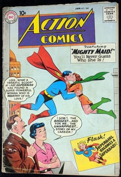 Action Comics (1938) #260 GD- (1.8) Superman