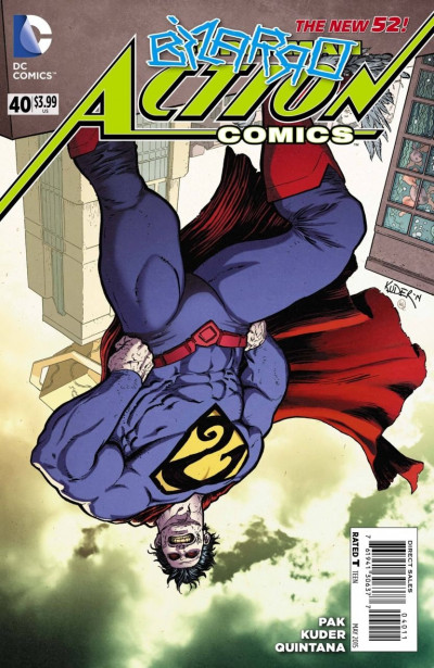 Action Comics (2011) #27 VF+ Bizarro The New 52!