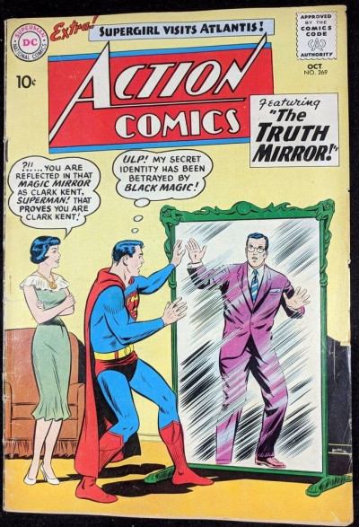 Action Comics (1938) #269 VG- (3.5) Superman