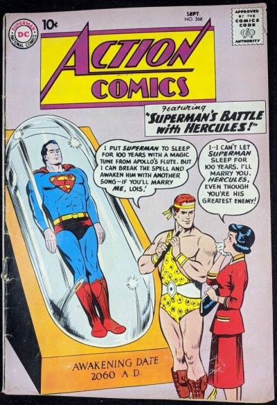 Action Comics (1938) #268 VG- (3.5) featuring Superman