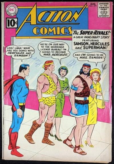 Action Comics (1938) #279 GD- (1.8) featuring Superman