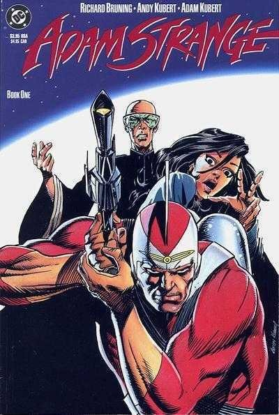 Adam Strange: The Man of Two Worlds (1990) #'s 1 2 3 Complete Set Kubert