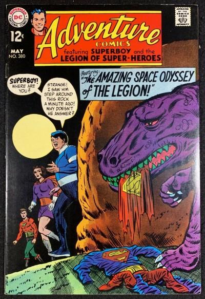 Adventure Comics (1938) #380 FN+ (6.5) Superboy and Legion of Super-Heroes