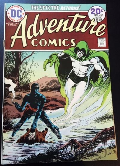Adventure Comics (1938) #432 FN (6.0) featuring The Spectre Jim Aparo art