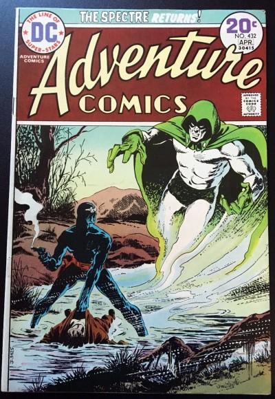 Adventure Comics (1938) #432 FN (6.0) featuring The Spectre