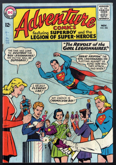 Adventure Comics (1938) #326 VG/FN (5.0) Superboy & Legion of Super-Heroes