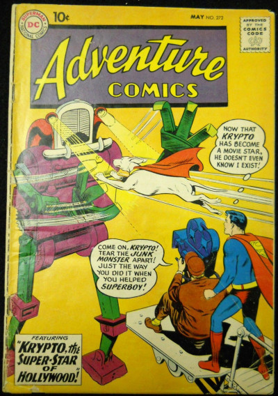 ADVENTURE COMICS #272 GD/VG