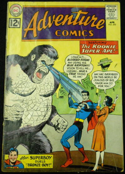 ADVENTURE COMICS #295 VG