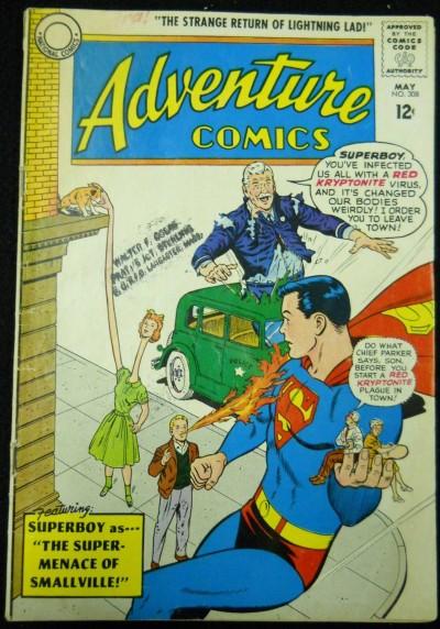 ADVENTURE COMICS #308 VG