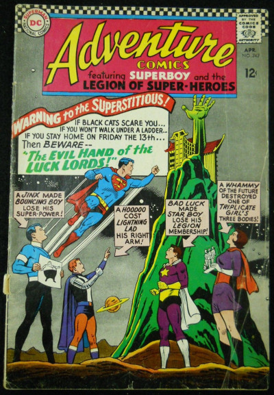 ADVENTURE COMICS #343 GD/VG