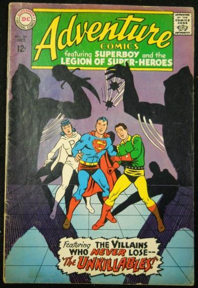 ADVENTURE COMICS #361 VG+