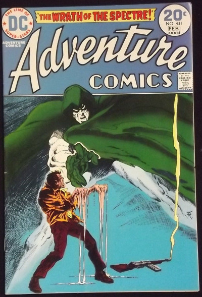 ADVENTURE COMICS #431 SPECTRE BEGINS VF-