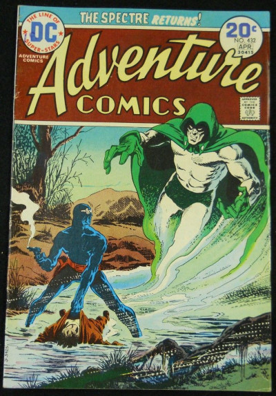 ADVENTURE COMICS #432 VG/FN SPECTRE APPEARANCE