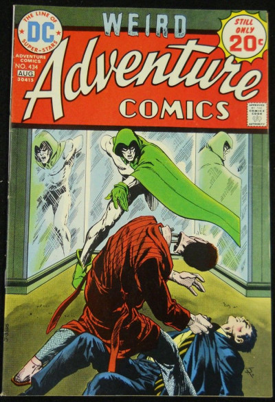 ADVENTURE COMICS #434 FN/VF SPECTRE APPEARANCE