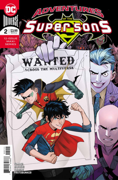 Adventures of the Super Sons (2018) #2 of 12 VF/NM