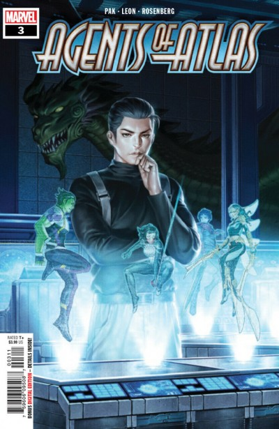 Agents of Atlas (2019) #3 VF/NM-NM Jung-Geun Yoon Cover