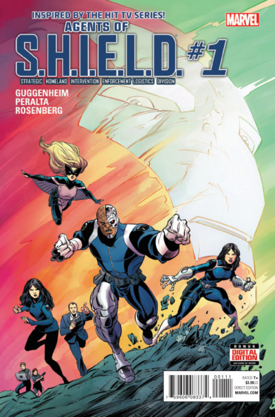 AGENTS OF S.H.I.E.L.D. (2016) #1 VF/NM