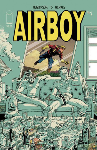 AIRBOY (2015) #1 VF/NM  IMAGE COMICS