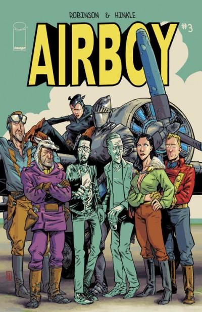 AIRBOY (2015) #3 VF/NM IMAGE COMICS