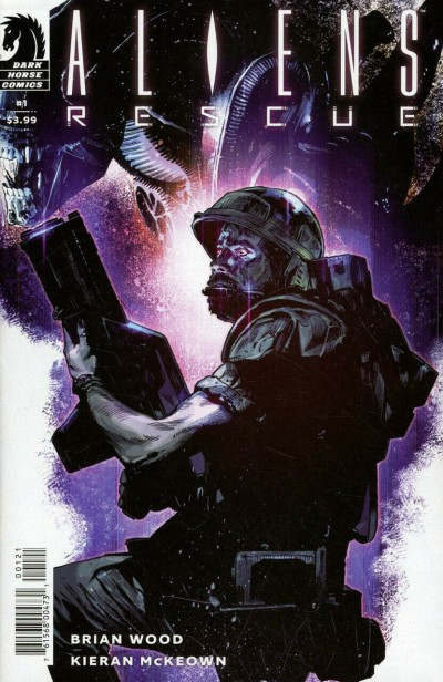 Aliens: Rescue (2019) #1 VF/NM Mack Chater Variant Cover Brian Wood Dark Horse