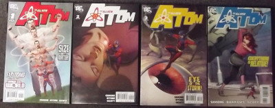 ALL-NEW ATOM (2006) #'s 1-25 COMPLETE SET