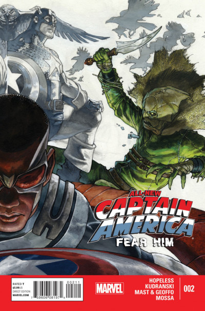 ALL-NEW CAPTAIN AMERICA: FEAR HIM (2015) #2 VF- MARVEL NOW!
