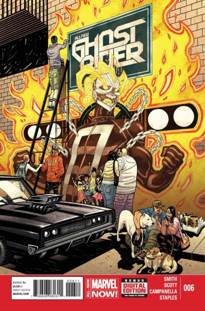 ALL-NEW GHOST RIDER (2014) #6 VF/NM MARVEL NOW!