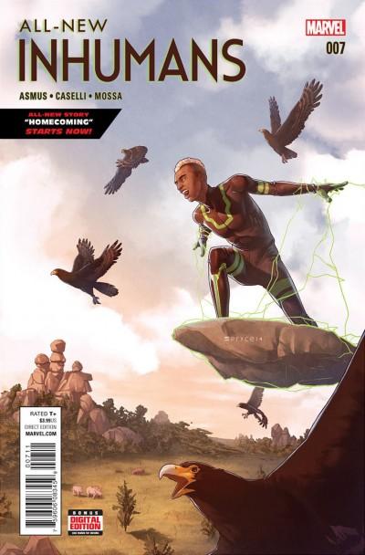 All-New Inhumans (2015) #7 VF/NM