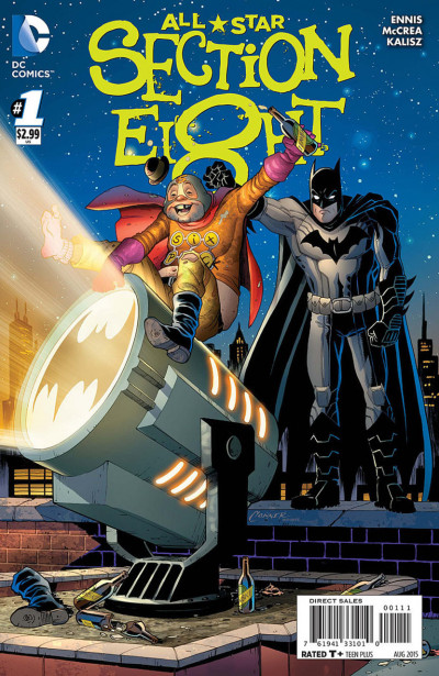 ALL-STAR SECTION EIGHT (2015) #1 VF/NM