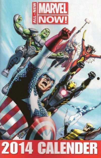 All-New Marvel Now! 2014 Wall Calendar John Cassaday Cover