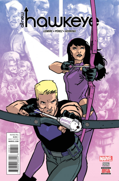 All-New Hawkeye (2015) Volume 2 #6 VF/NM Jeff Lemire Ramón Pérez