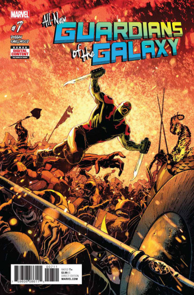 All-New Guardians of the Galaxy (2017) #7 VF/NM