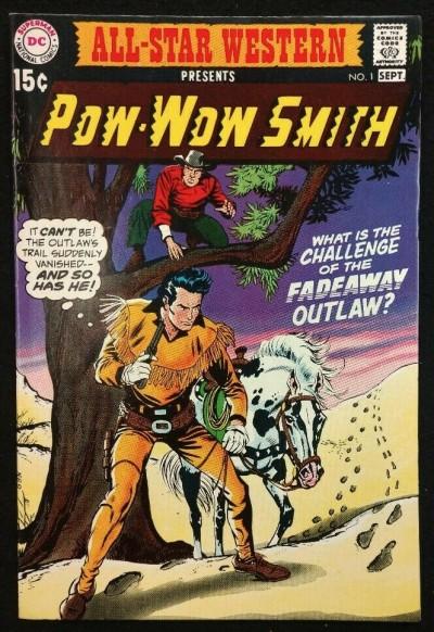 All-Star Western (1970) #1 VF- Pow-Wow Smith